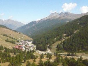 Panorama di Borgata Sestriere